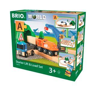 BRIO STARTER LIFT & LOAD 19 PCES 33878