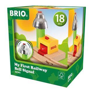 BRIO MY FIRST RAILWAY BELL SIGNAL 33707