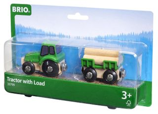 BRIO FARM TRACTOR WITH LOAD 33799