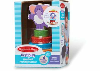 FIRST PLAY ELEPHANT ROCKING STACKER