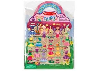 REUSABLE PUFFY STICKERS FAIRY
