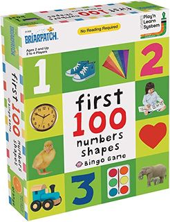 FIRST 100 NUMBERS & SHAPES BINGO