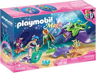 PLAYMOBIL PEARL COLLECTORS W/ RAY 70099