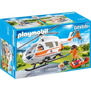 PLAYMOBIL RESCUE HELICOPTER 70048