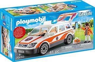 PLAYMOBIL EMERGENCY CAR W SIREN 70050