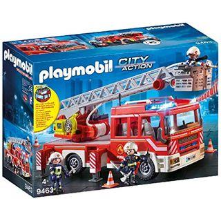 PLAYMOBIL FIRE ENGINE W/ LADDER 9463