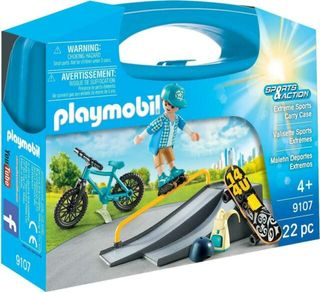 PLAYMOBIL CARRY CASE EXTREME SPORT 9107