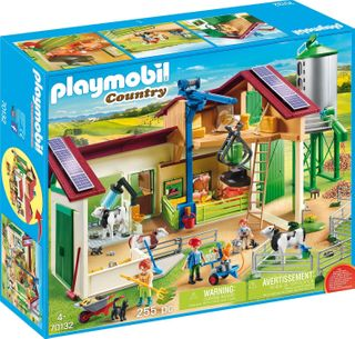 PLAYMOBIL FARM WITH ANIMALS 70132