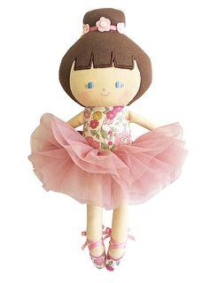 BABY BALLERINA ROSE GARDEN 25CM