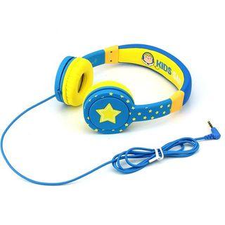 HEADPHONES ON EAR COMFORT BLUE