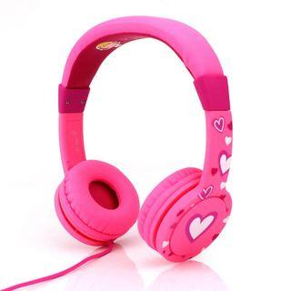 HEADPHONES ON EAR COMFORT PINK