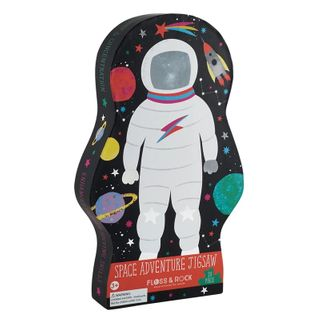 FLOSS & ROCKS SHAPED PUZZ ASTRONAUT 20PC