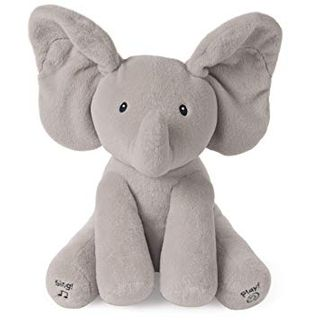 FLAPPY ELEPHANT ANIMATED PLUSH 30CM