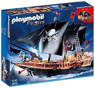 PLAYMOBIL PIRATE RAIDER'S SHIP 6678