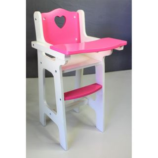 SALLY FAY WOODEN DOLL HIGH CHAIR