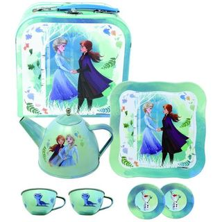 FROZEN 2 TEA SET IN CARRY CASE 7 PIECE
