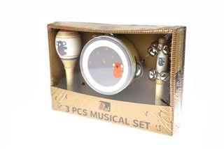 SMALL 3 PCE MUSICAL SET KOALA