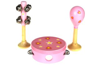 SMALL 3PCE MUSICAL SET HEARTS