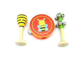 SMALL 3PCE MUSICAL SET BEES