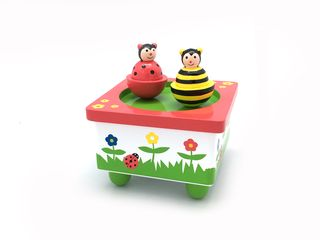MUSIC BOX BEE & LADYBIRD