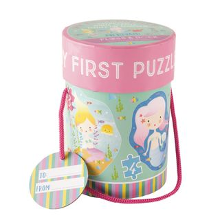 FLOSS & ROCK FIRST PUZZLES MERMAID