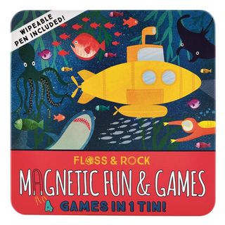 FLOSS & ROCK TIN OF MAGNETIC GAMES SEA