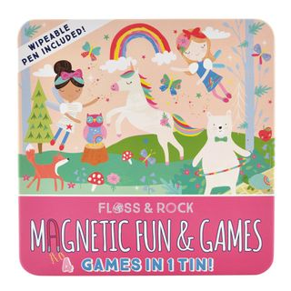 FLOSS & ROCK TIN OF MAGNETIC GAMES FAIRY
