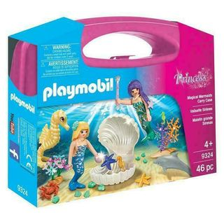 PLAYMOBIL CARRY CASE MERMAID 9324