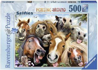 HORSING AROUND PUZZLE 500 PCE