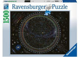 MAP OF THE UNIVERSE PUZZLE 1500 PCES