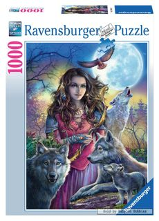 PROTECTOR OF WOLVES PUZZLE 1000 PCES