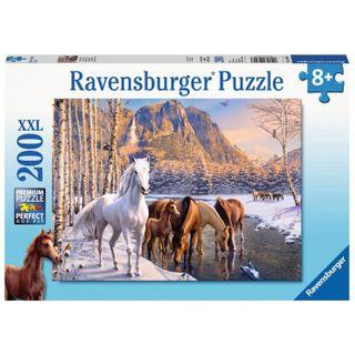 WINTER HORSES PUZZLE 200 PCE