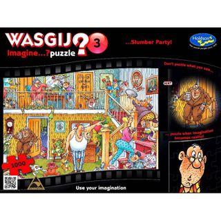 WASGIJ IMAGINE - 3 SLUMBER PARTY