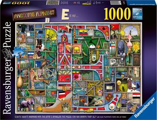 AWESOME ALPHABET E PUZZLE 1000 PCE