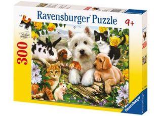 HAPPY ANIMAL BABIES PUZZLES 300 PCE