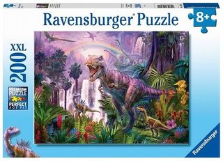 KING OF THE DINOSAURS PUZZLE 200 PCE