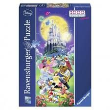 DISNEY CHARACTERS PUZZLE 1000 PCE