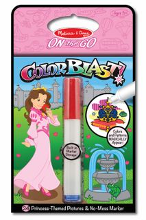 ON THE GO COLOUR BLAST PRINCESS