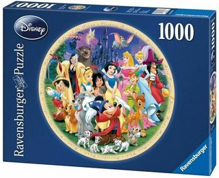 DISNEY WONDERFUL WORLD PUZZLE 1000 PCE
