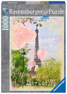 EIFFEL TOWER DREAMS PUZZLE 1000 PCE