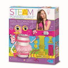 STEAM POWERED GIRLS MISS TIN CAN ROBOT