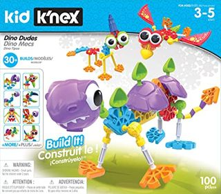 KNEX KIDS DINO DUDES BUILDING SET