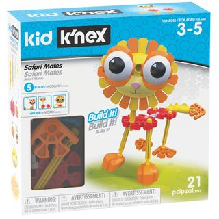 KNEX KIDS SAFARI MATES BUILDING SET