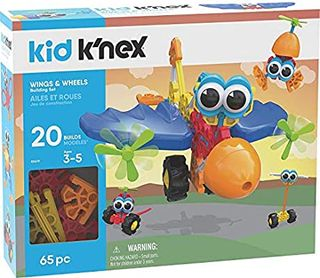 KNEX KIDS WINGS & WHEELS BUILDING SET