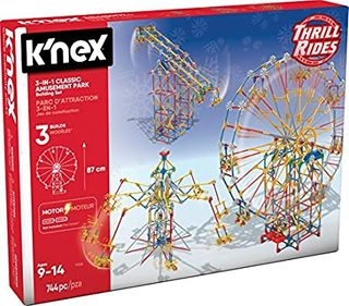KNEX 3 IN 1 AMUSEMENT PARK
