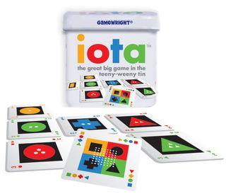 GAMEWRIGHT IOTA CARD GAME IN TIN