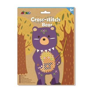 AVENIR CROSS STITCH BEAR