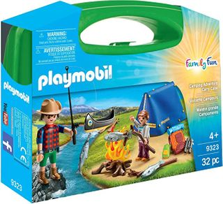 PLAYMOBIL CARRY CASE CAMPING 9323