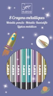 8 METALLIC PENCILS