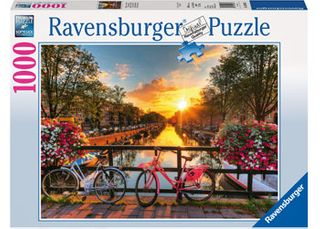 BICYCLES IN AMSTERDAM PUZZLE 1000 PCE